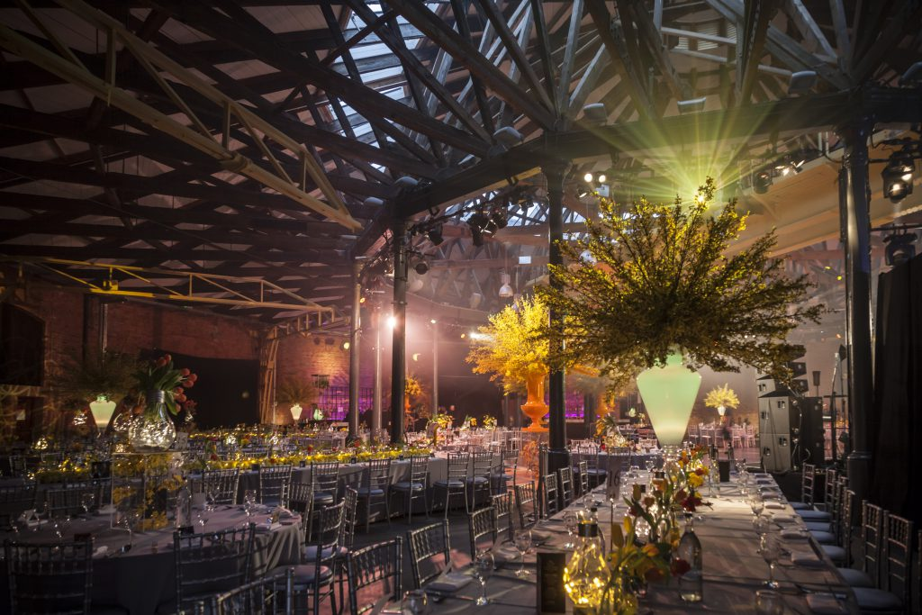 Stunning wedding venue and decor