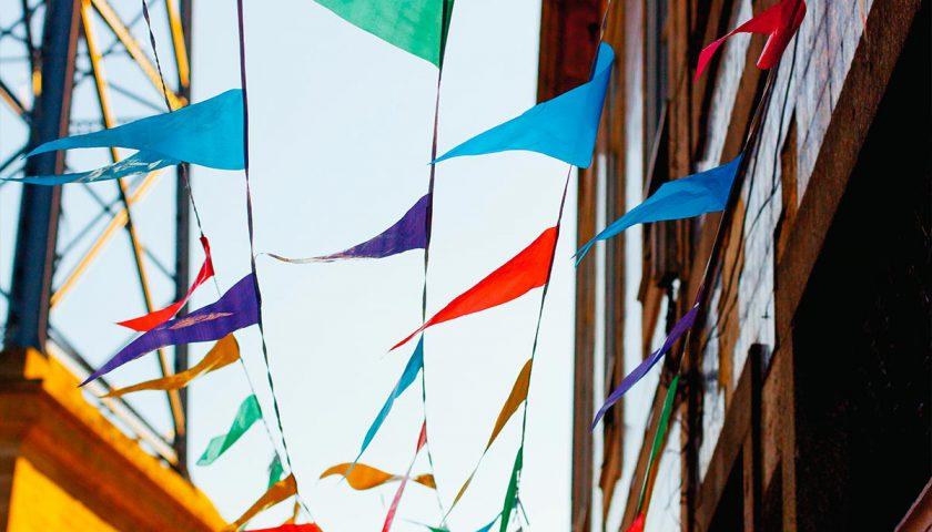corporate event ideas, festical bunding